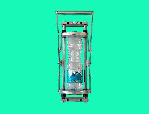 پرس دستی بطری پلاستیکی و قوطی آلومینیومی سرویکو مدل RHINO
